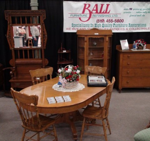 Ball Furniture At The London Ontario Tradeshow