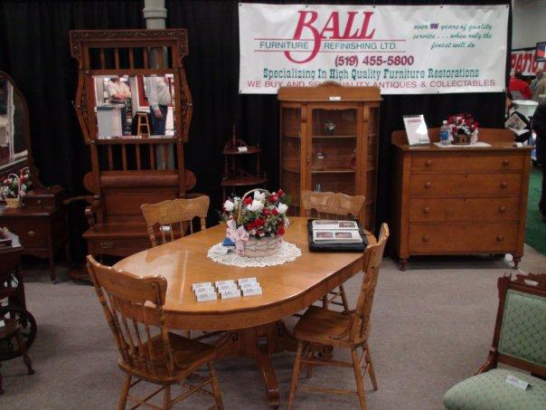 Ball Furniture At The London Ontario Tradeshow Ball Furniture Refinishing L
