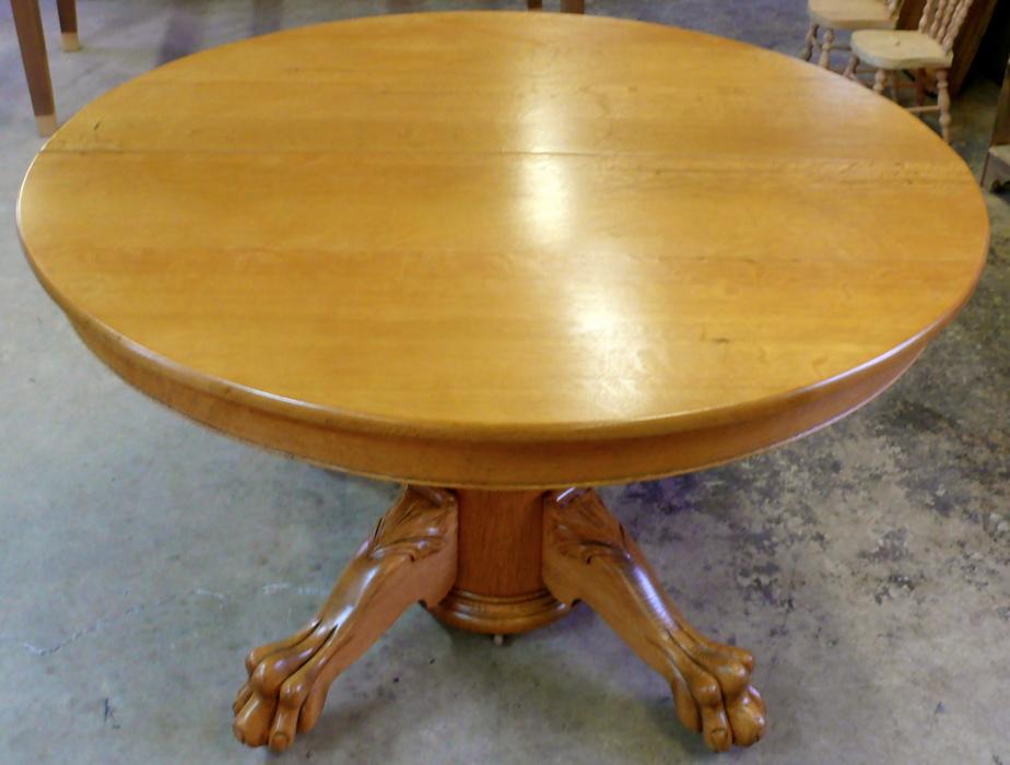 Antique Oak Table Restoration - Ball Furniture Refinishing